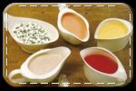 Соусы, горчица, кетчуп, майонез