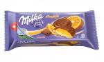 Milka Печенье бисквитное с апельсиновой начинкой в шоколаде