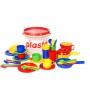Plasto Набор посуды в ведре 39 предметов