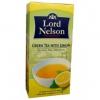 Чай Lord Nelson Green Tea With Lemon пакетированный