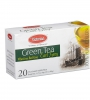 Чай Victorian Green Tea  Earl Grey пакетированный