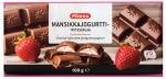 Pirkka Молочный шоколад с клубникой