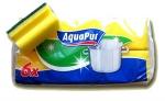"""Набор губок """"AquaPur"""" для мытья посуды"""