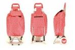 Сумка-тележка на колесах (красная)