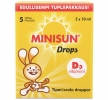 Витамин Д MINISUN капли