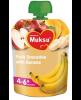 4-6 мес Фруктовое пюре яблоко с бананом