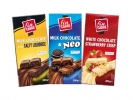 Fin Carré Шоколад Белый шоколад с крупинками клубники