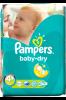 Pampers Памперсы 4+ Baby Dry 42шт.