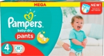 Pampers Трусики 4 Baby Dry Pants 82 шт
