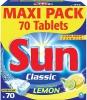 Sun Таблетки для ПММ  классика с лимоном  70 шт