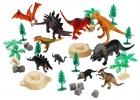 Игрушки в ведре Мир динозавтров